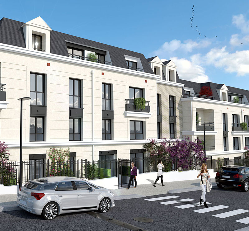 Accueil jp france r sidences for Vente logement neuf