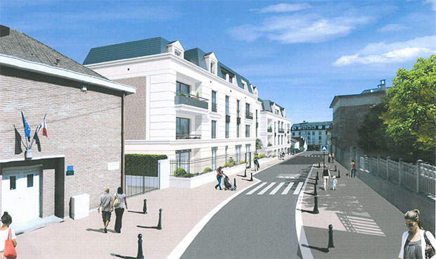 JP France Résidences crée 39 nouveaux logements <br />à Saint-Cyr-l'École