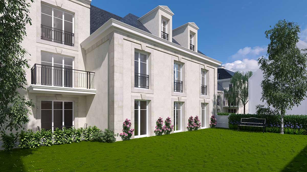Pr t louer investissez colombes jp france r sidences - Location maison jardin ile de france colombes ...