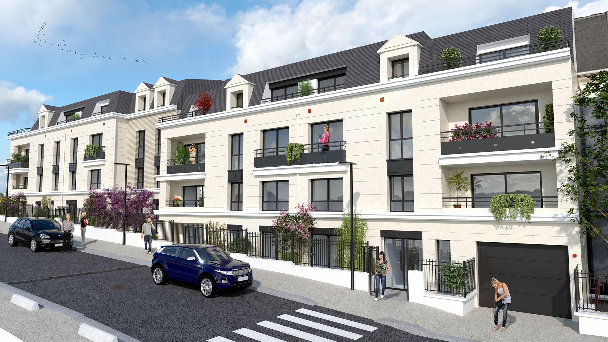 Appartement neuf à Saint-Cyr-l'Ecole 78